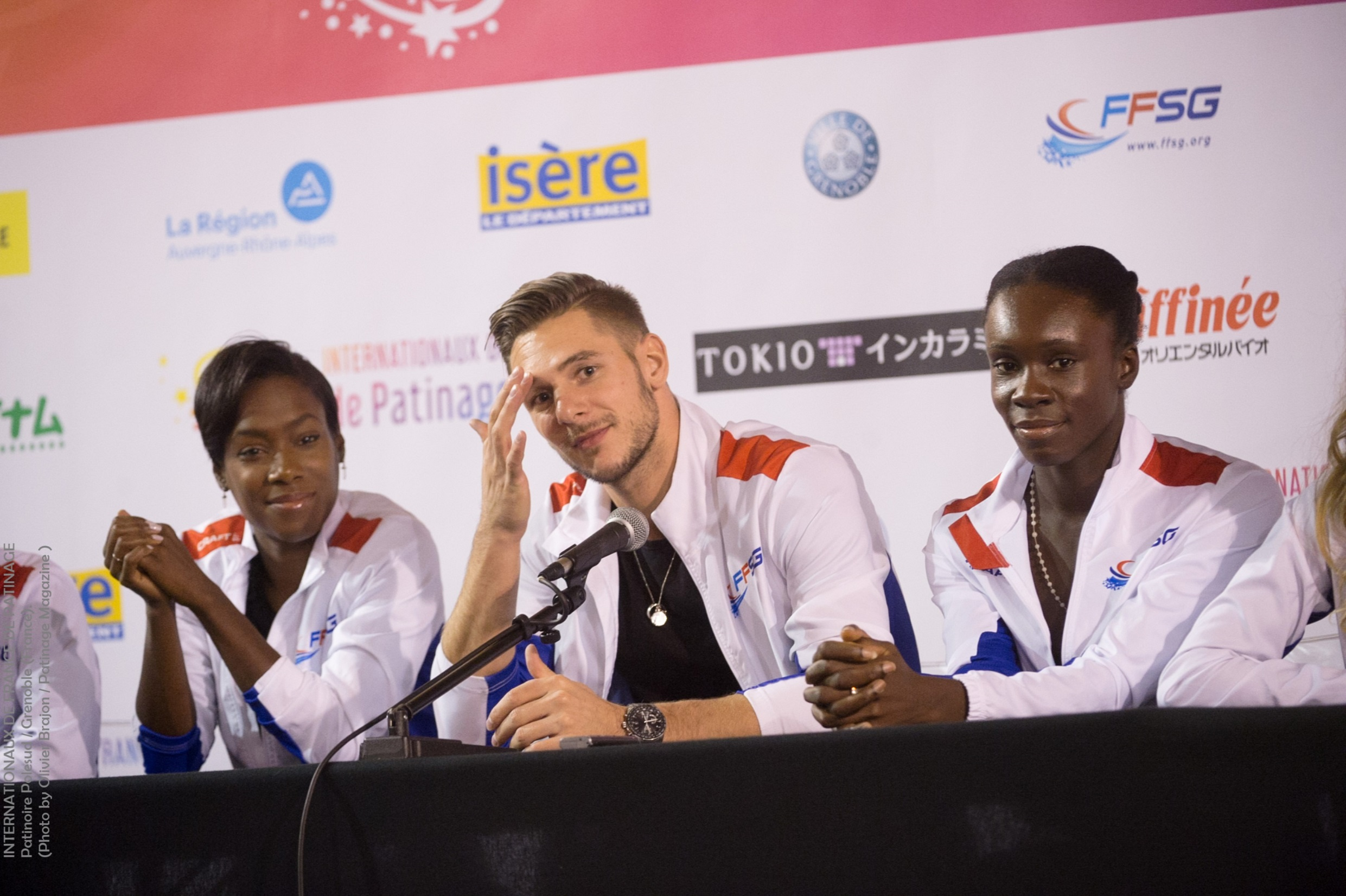 Internationaux de France Grenoble les premieres photos
