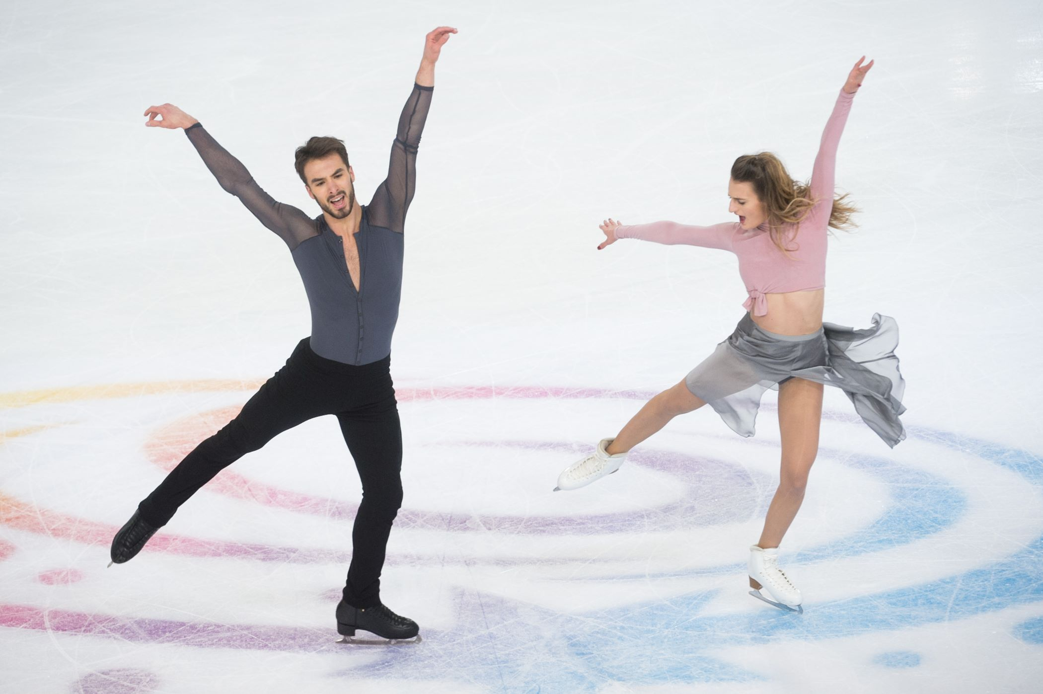 ISU INTERNATIONAUX DE FRANCE EN VIDEO    DANSE SUR GLACE