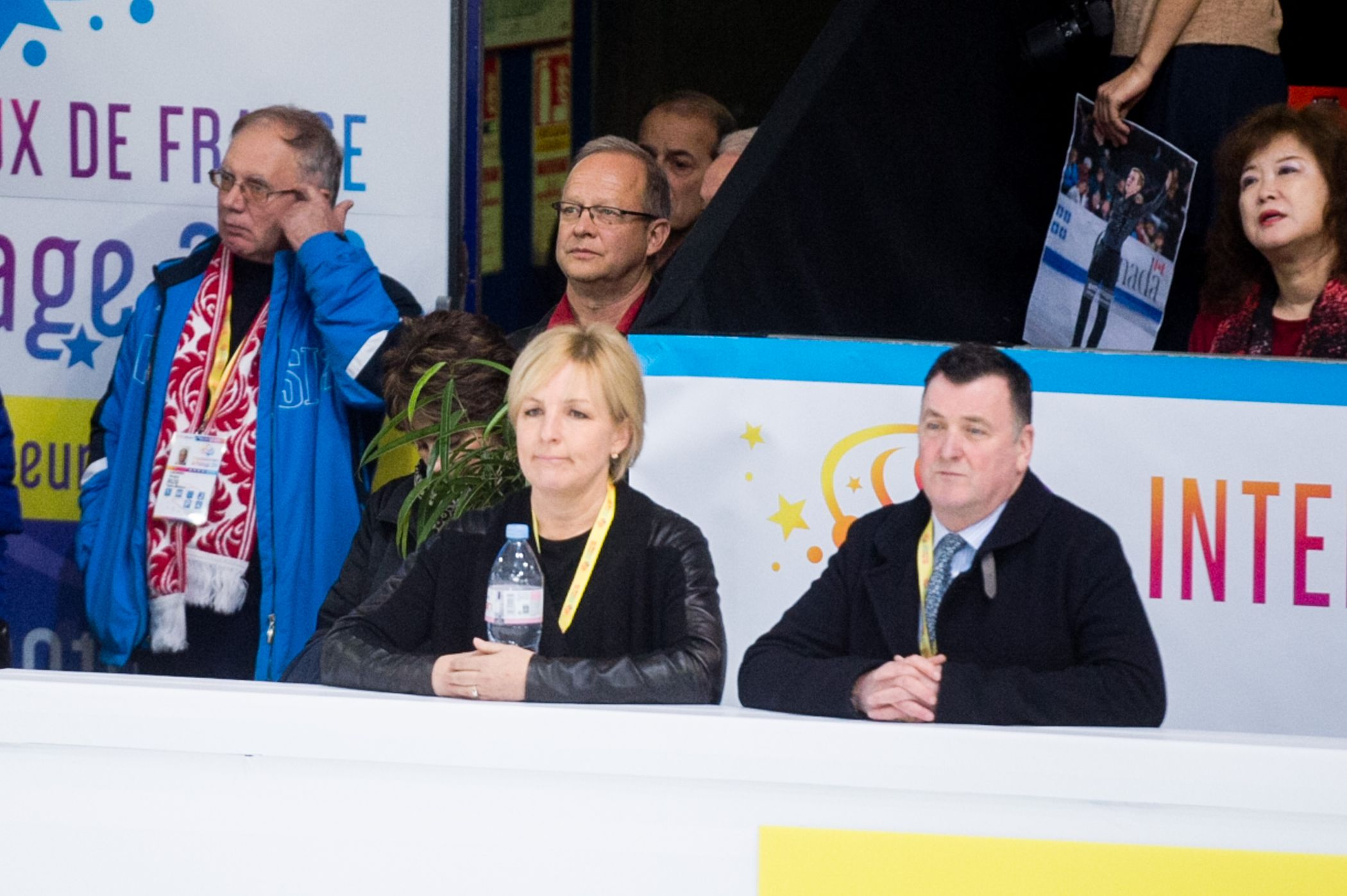 Brian Orser comments about his students in Graz